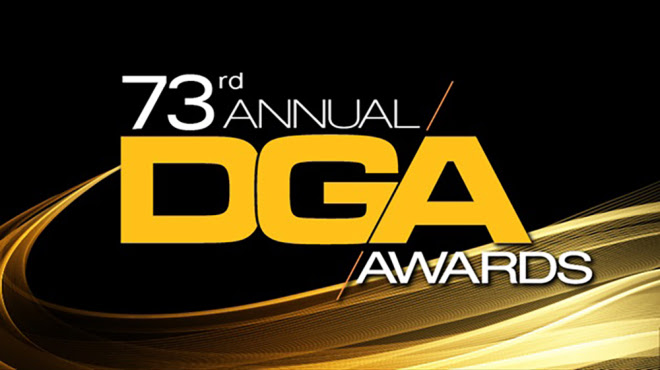 Logo for the 73rd Directors Guild of America Awards