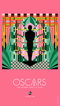 Oscars 2021 Poster Art by Mister Michelle