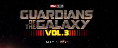 GUARDIANS OF THE GALAXY VOL. 3 Logo Title and Date