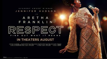 Official Banner Poster for the Aretha Franklin biopic RESPECT (2021)