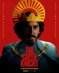 Character Poster for Sir Gawain (Dev Patel) in David Lowery's adaptation of the medieval poem THE GREEN KNIGHT (2021)