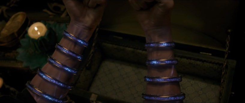 The powerful ten rings from Marvel's new movie SHANG-CHI AND THE LEGEND OF THE TEN RINGS (2021)