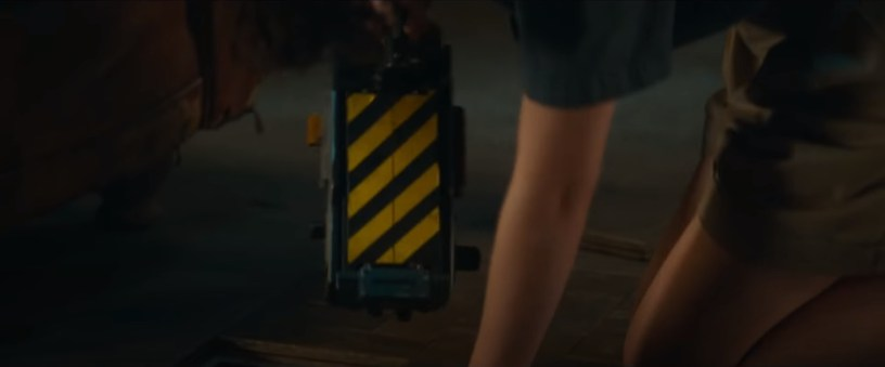 A Ghost Trap is discovered in the franchise reboot GHOSTBUSTERS: AFTERLIFE (2021)