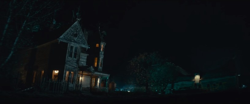 An old house in rural Oklahoma, in the franchise reboot GHOSTBUSTERS: AFTERLIFE (2021)