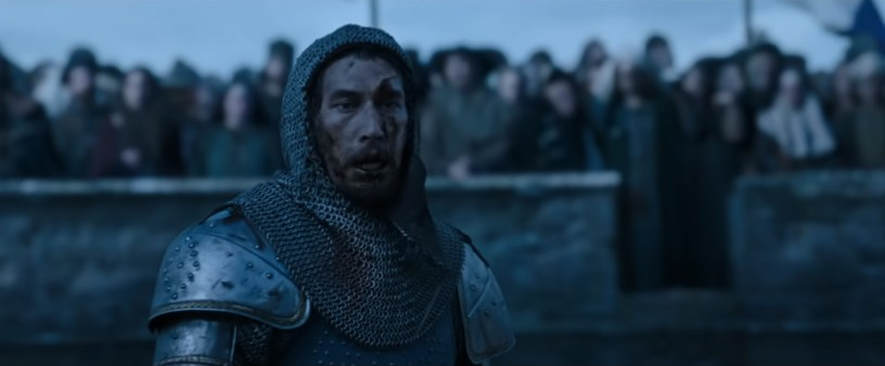 Adam Driver stars as French soldier Jacques LeGris in Ridley Scott's THE LAST DUEL (2021)