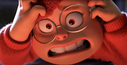 Mei Lee (voiced by Rosalie Chiang), a 13-year-old student with an uncontrollable problem in Pixar's TURNING RED (2022)