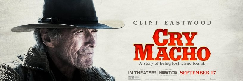 Banner Poster for Clint Eastwood's CRY MACHO (2021)