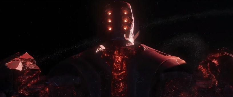 A galactic being known as a Celestial in Marvel's ETERNALS (2021)