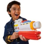 A Nerf air gun that shoots Stay Put marshmallows, a toy in Hasbro's march line for GHOSTBUSTERS: AFTERLIFE