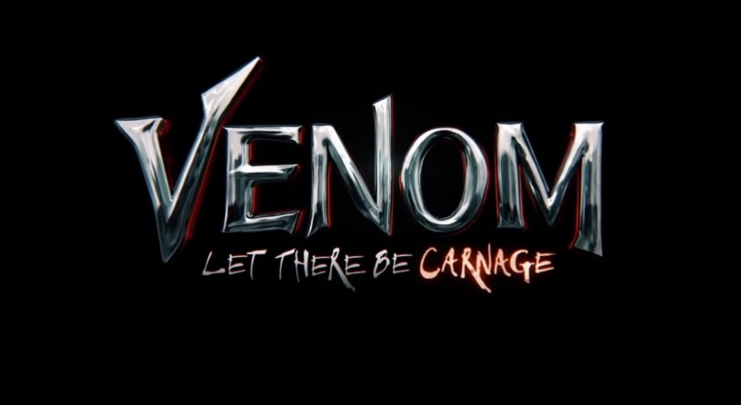Title font for VENOM: LET THERE BE CARNAGE (2021)