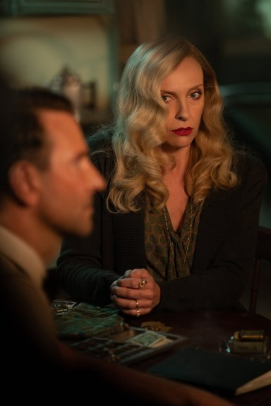 Toni Collette co-stars with Bradley Cooper in the new film noir NIGHTMARE ALLEY (2021), from Academy Award winning director Guillermo del Toro.
