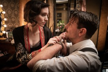 Rooney Mara co-stars with Bradley Cooper in the new film noir NIGHTMARE ALLEY (2021), from Academy Award winning director Guillermo del Toro.