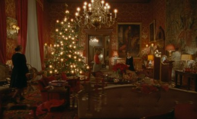 A Royal Christmas family gathering in the Princess Diana biopic SPENCER (2021)