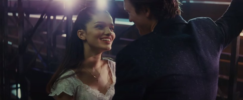 Rachel Zegler and Ansel Elgort star as Maria and Tony in Steven Spielberg's adaptation of WEST SIDE STORY (2021)