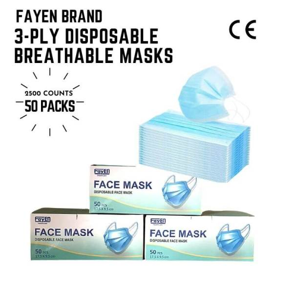 Icare disposable face masks