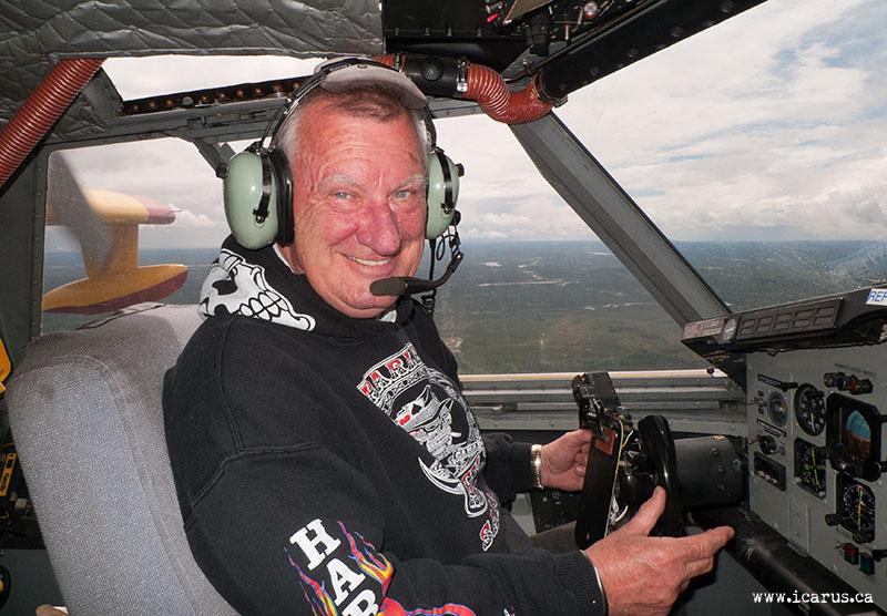 Arnie Schreder in CL-215