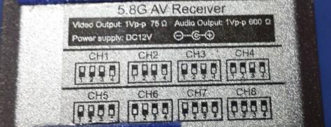 RC 5808 Receiver
