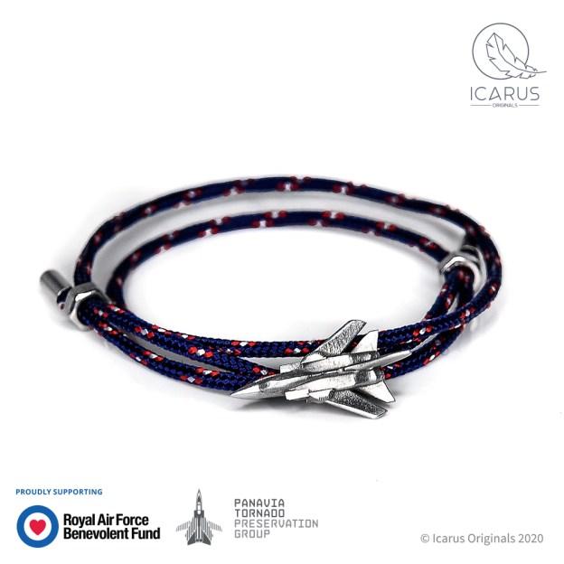 Panavia ZA326 Tornado GR1 Cord Wrap Bracelet