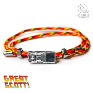 Back to the Future Delorean time machine bracelet