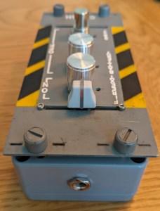 SonicAIM Crash panel guitar pedal
