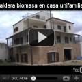 Funcionamiento de una caldera de biomasa en una casa