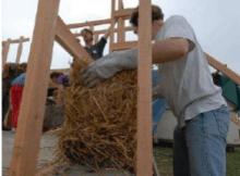 ventajas de construir con paja