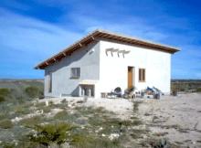 construcción de una casa de paja