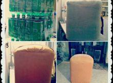 puff de botellas plásticas
