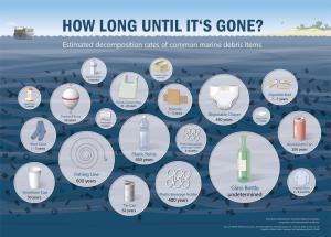 tiempo que tardan los residuos sólidos para desaparecer