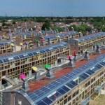 un barrio de casas ecológicas enLondres