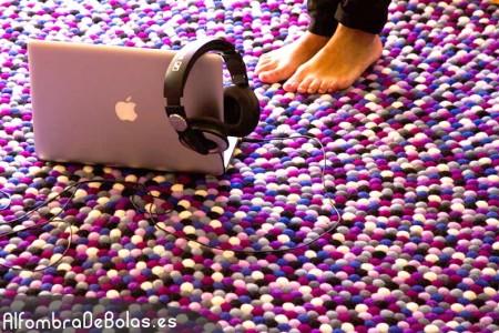 alfombra de bolas