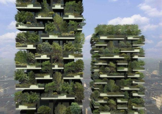 Jardines verticales: Bosco Verticale