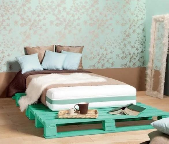 camas de palets individual