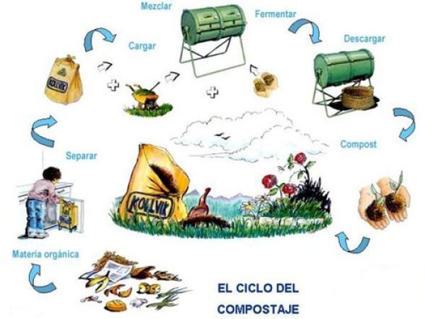 compost, el ciclo