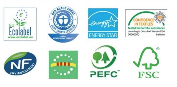 Productos ecológicos, etiquetas ecológicas