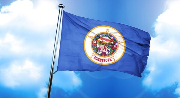 Minnesota flag - home inspection in Minnesota