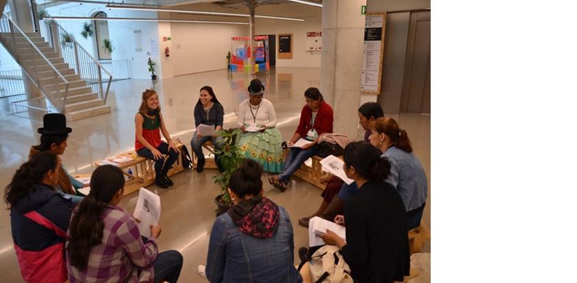 Formación en Euskadi de mujeres líderes rurales de Bolivia ner group icaza muebles oficina bilbao