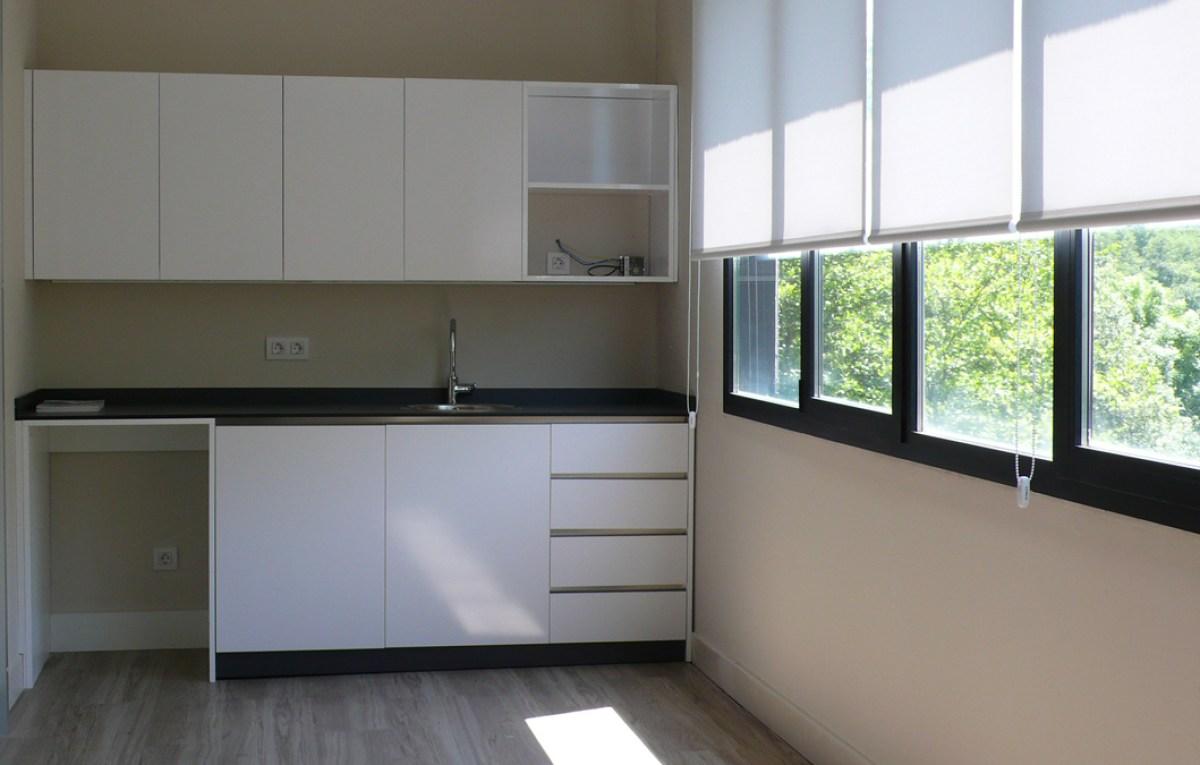 office, cocina, zona estar distribuidor Icaza en Bilbao Bizkaia