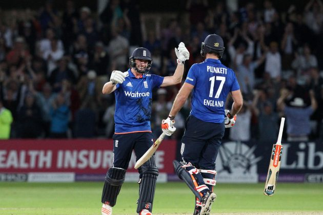 Plunkett six secures dramatic tie - Cricket News