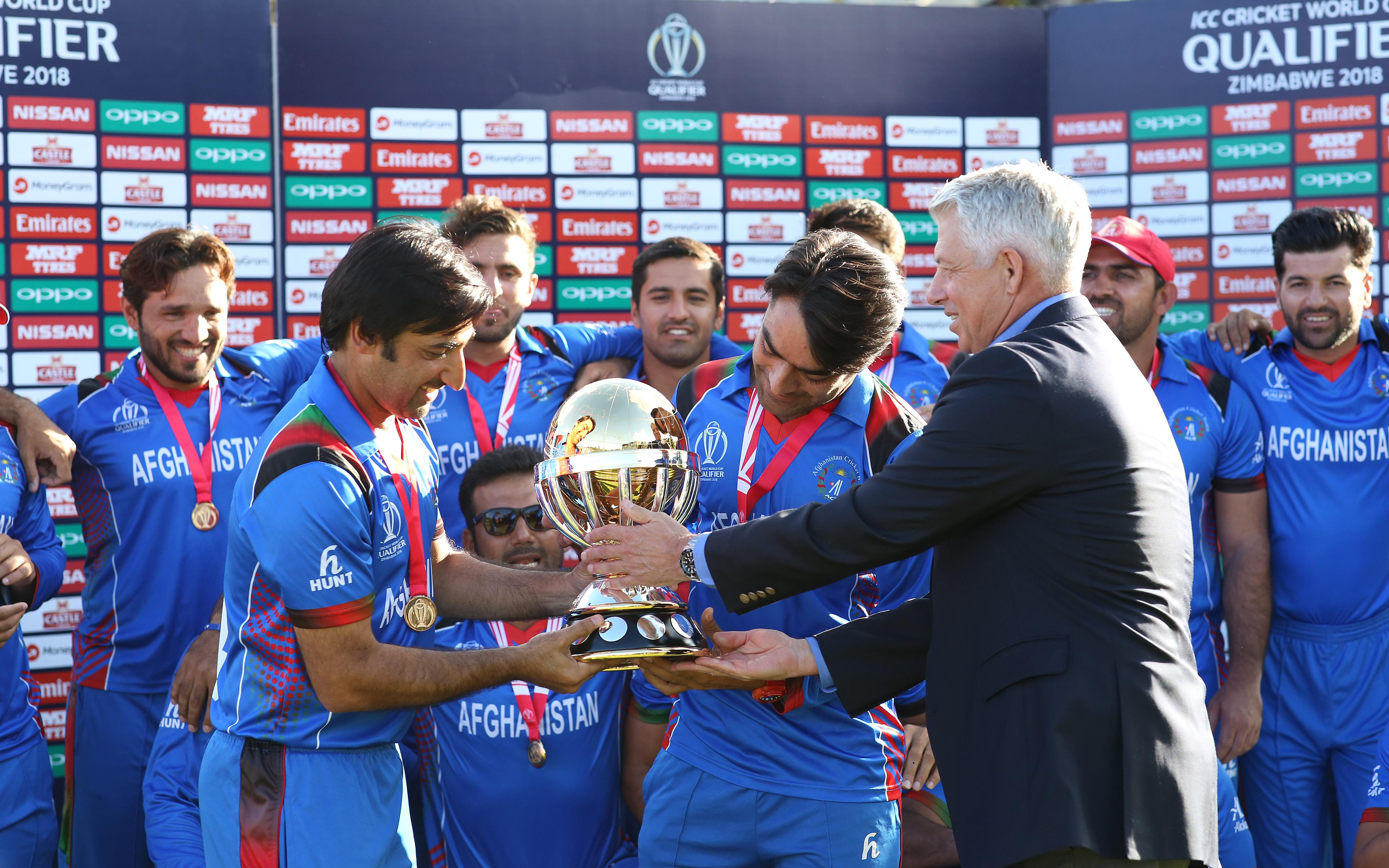 Afghanistan Win Icc Cricket World Cup Qualifier