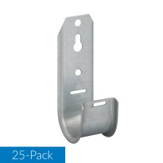1 5/16 Wall Mount J-Hook 25-Pack ICCMSJHK33