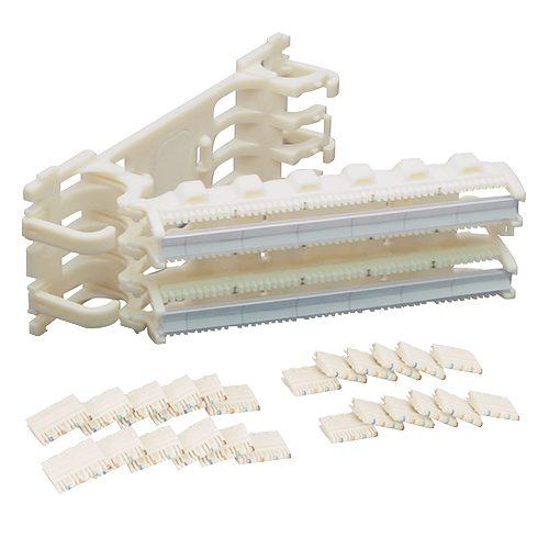 110 Cat 5e Wiring Block Kit with Hinged and 100 Pair - IC110H1004