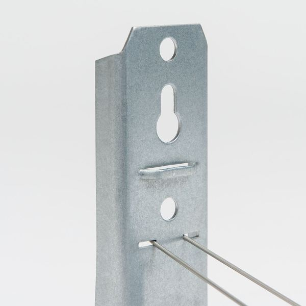 2 Inch Wall Mount J-Hook 25-Pack Close Up ICCMSJHK44