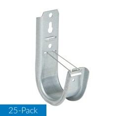 2 Inch Wall Mount J-Hook 25-Pack ICCMSJHK44