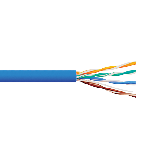 ICC 350Mhz CAT5e Bulk Cable with 24 AWG UTP Solid Wires, CMR Jacket in a Pull Box, 1000 Feet ICCABR5EBL