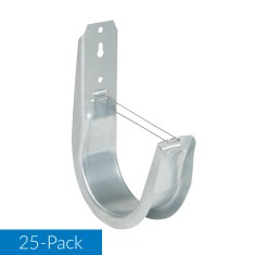 4 Inch Wall Mount J-Hook 25-Pack ICCMSJHK55