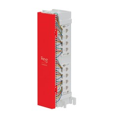 66 Wiring Block Pre-wired with 12 Data 8P8C Ports - IC06628P8C
