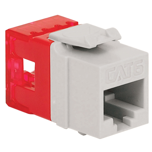 CAT6 RJ45 Keystone Jack for HD Style