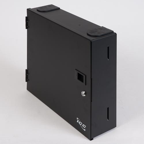 Lgx Fiber Optic Wall Mount Enclosure With 4 Panels Icc