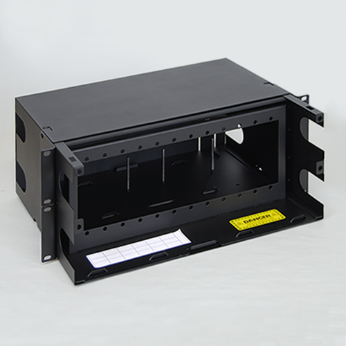 Lgx Fiber Optic Rack Mount Enclosure With 12 Panels And 4